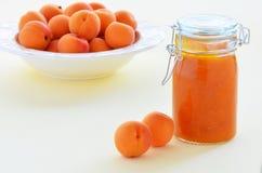 Confiture d'abricot Photos libres de droits