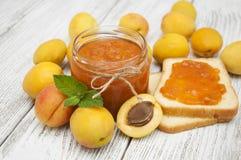 Confiture d'abricot Image stock