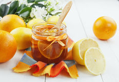 Confiture d'agrume Photo libre de droits