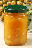 Confiture d'ananas Images stock