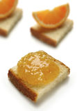 Confiture d'oranges blonde Images stock