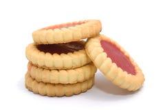 confiture d'oranges de biscuits plusieurs savoureux Images libres de droits