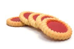 confiture d'oranges de biscuits plusieurs savoureux Images stock