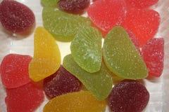 Confiture d'oranges en sucre images libres de droits