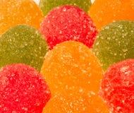 Confiture d'oranges multicolore Image libre de droits