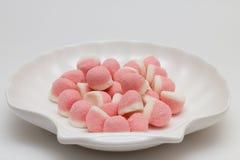 Confiture d'oranges rose en sucre Photo stock
