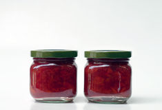 Confiture de cerise Images stock