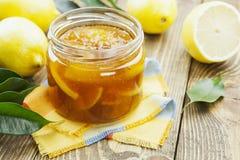 Confiture de citron Photo stock