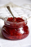 Confiture de fraise Photos stock
