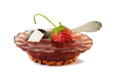Confiture de fraise et baies fraîches Photo libre de droits