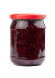 Confiture de framboise Photo libre de droits