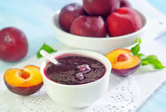 Confiture de prune Image stock