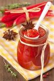 Confiture del peperoncino rosso. Fotografia Stock Libera da Diritti