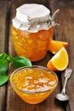 Confiture des fruits oranges Image libre de droits
