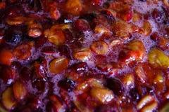Confiture des prunes Photos libres de droits