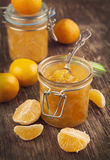 Confiture faite maison d'agrume. Photographie stock