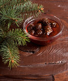 Confiture from fir cones Stock Photography