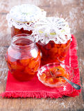 Confiture in jars Stock Photography
