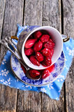 Confiture made of dogwood Royalty Free Stock Images