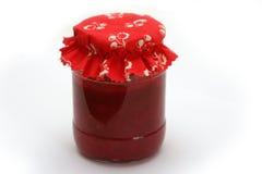 Confiture rouge de fruit Photo stock