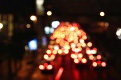 Confitures de ‹de traffic†de ‹d'†de ‹d'of†de ‹de Bokeh†photos libres de droits