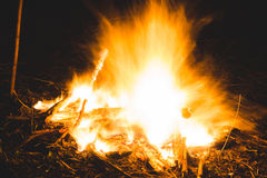 Conflagrant fire Stock Photography
