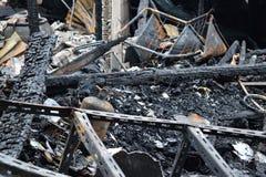 conflagration Foto de Stock Royalty Free