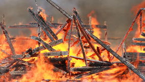 Conflagration stock footage