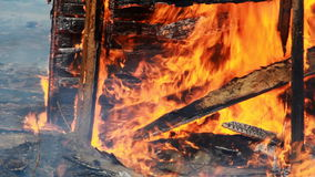 Conflagration stock video