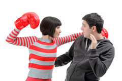 Conflict Royalty Free Stock Photos