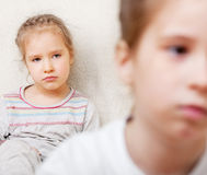 Conflict between children Stock Photos