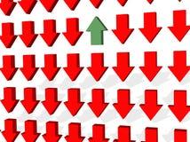 Conflict en Oppositie Royalty-vrije Stock Foto