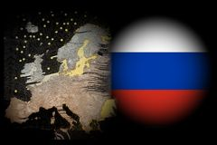 Conflict Europe - Russia Stock Images