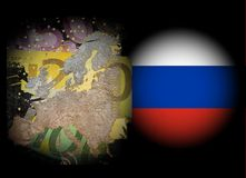 Conflict Europe - Russia Royalty Free Stock Images