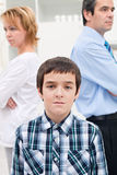 Conflict in family Royalty Free Stock Images