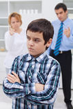Conflict in family Stock Images