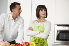 Free Conflict In The Kitchen Royalty Free Stock Photography - 17798087
