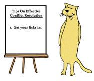 Conflict Resolution stock illustration