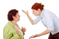 Conflict Royalty Free Stock Image