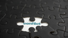 Conflict Royalty Free Stock Photo