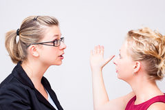Conflict at workplace Stock Photography