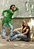 Conflicto Foto de archivo libre de regalías