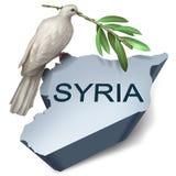 Conflit de crise de la Syrie Image libre de droits