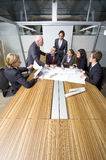 Conflito do quarto de reunião foto de stock royalty free