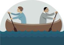 Conflito no relacionamento Imagens de Stock