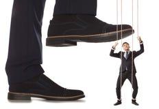 Conflitto di affari immagine stock libera da diritti