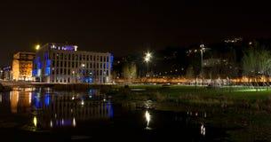 confluences Франция lyon Стоковое Изображение