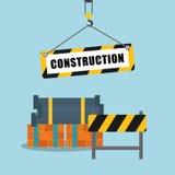Conforme a diseño de la construcción Foto de archivo libre de regalías