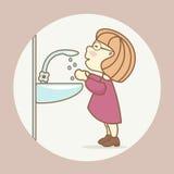 Conformidad con las reglas de saneamiento y de higiene libre illustration