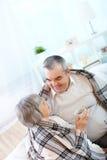 Confort à la maison Image libre de droits